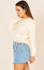 City Of Angels sweater in cream