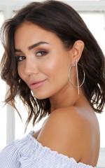 Trivial Earrings in silver