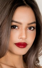 Lily May Mac Collection Lipstick in red royale
