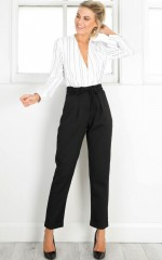 Night Shade Pants in Black