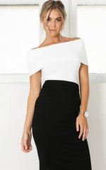 Objective Top in white