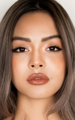 Lily May Mac Collection Lipstick in toffee taupe