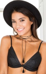Whip It Good choker in black