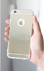 Vanity iphone 6 Plus cover in gold mirror