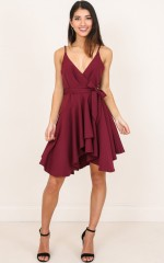 Why You Call dress in wine