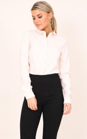 CEO Shirt in Blush