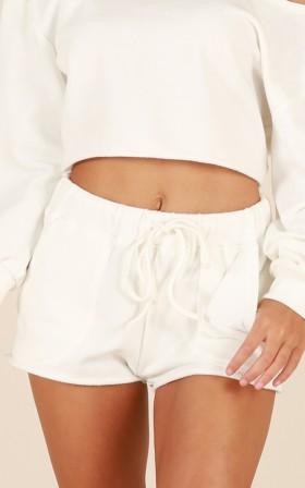 Cloud Nine Shorts in White