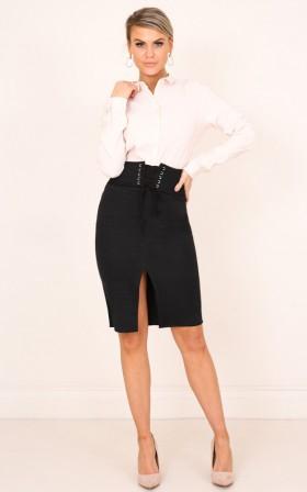 Every Star skirt in black