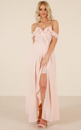Real Fairies maxi dress in blush