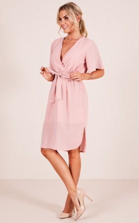 Top Notch dress in blush