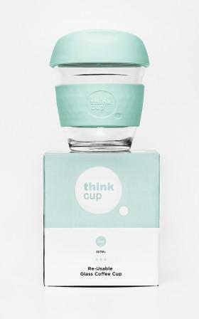 Think Cup in seafoam 8oz