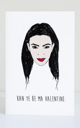 Kan Ye Be My Valentine card
