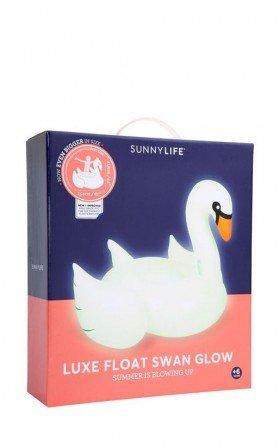 Sunny Life - Luxe Float Swan in glow in the dark