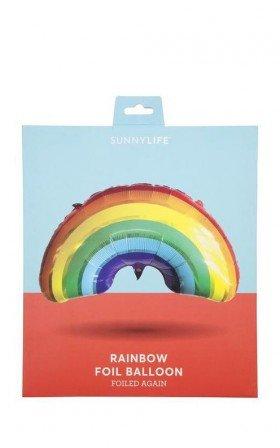 Sunny Life - Rainbow Foil Balloon in multi