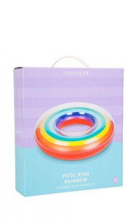 Sunny Life - Rainbow Pool Ring in multi