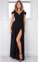 Stand Close dress in black