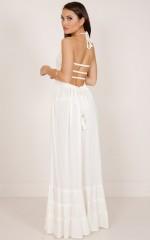 All Great Ideas maxi dress in cream