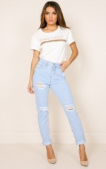 Lydia jeans in light wash