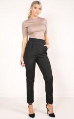 Working Class Gal pants in black