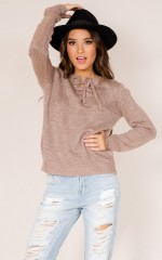 Forever Ago knit in dark mocha