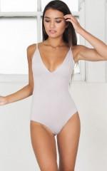 Admirable Bodysuit in grey