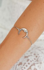 Shine Through The Skies bracelet in silver
