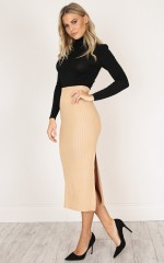 Brick By Brick skirt in beige