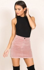 All My Secrets skirt in blush