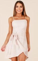 Bad Love dress in beige