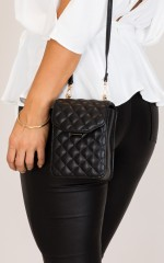 Speak Now Bag in black