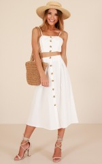 Better Everyday two piece set in white