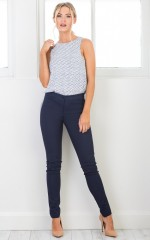 Best Foot Forward pants in navy