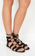 Billini - Carine in black suede