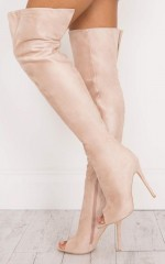 Billini - Gigi in blush suede