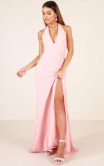Do It My Way dress in blush
