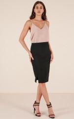 Embrace It skirt in black