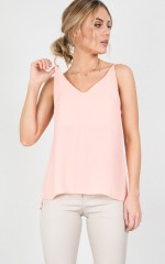 Float top in blush