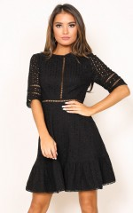 Georgine dress in black