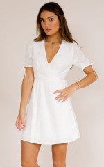 Good Romance dress in white