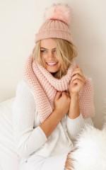 Gumdrop beanie in blush