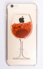 Hand Me The Bottle iphone cover in red and clear - 6