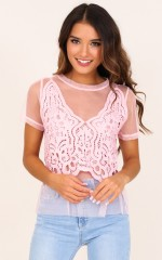 Have And Hold top in blush