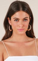 Hidden Talent earrings in silver