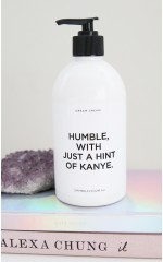 Hint Of Kanye lotion in elodie