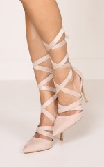Billini - Koko in blush suede
