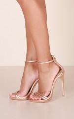 Billini - Liana in rose gold metallic