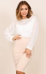 Lupa bodysuit in white