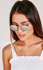 Model Behaviour sunglasses in silver