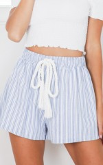 Mountain Peak shorts in blue stripe