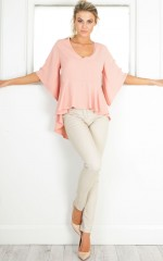 My Strength top in blush